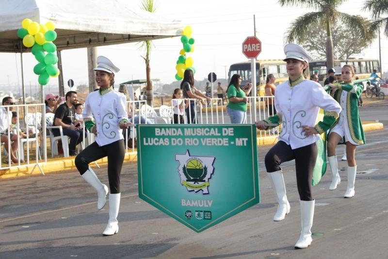 Desfile 07 Setembro em Lucas do Rio Verde