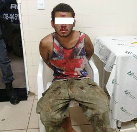 Homem é preso ao tentar furtar ônibus de mineradora em Nobres