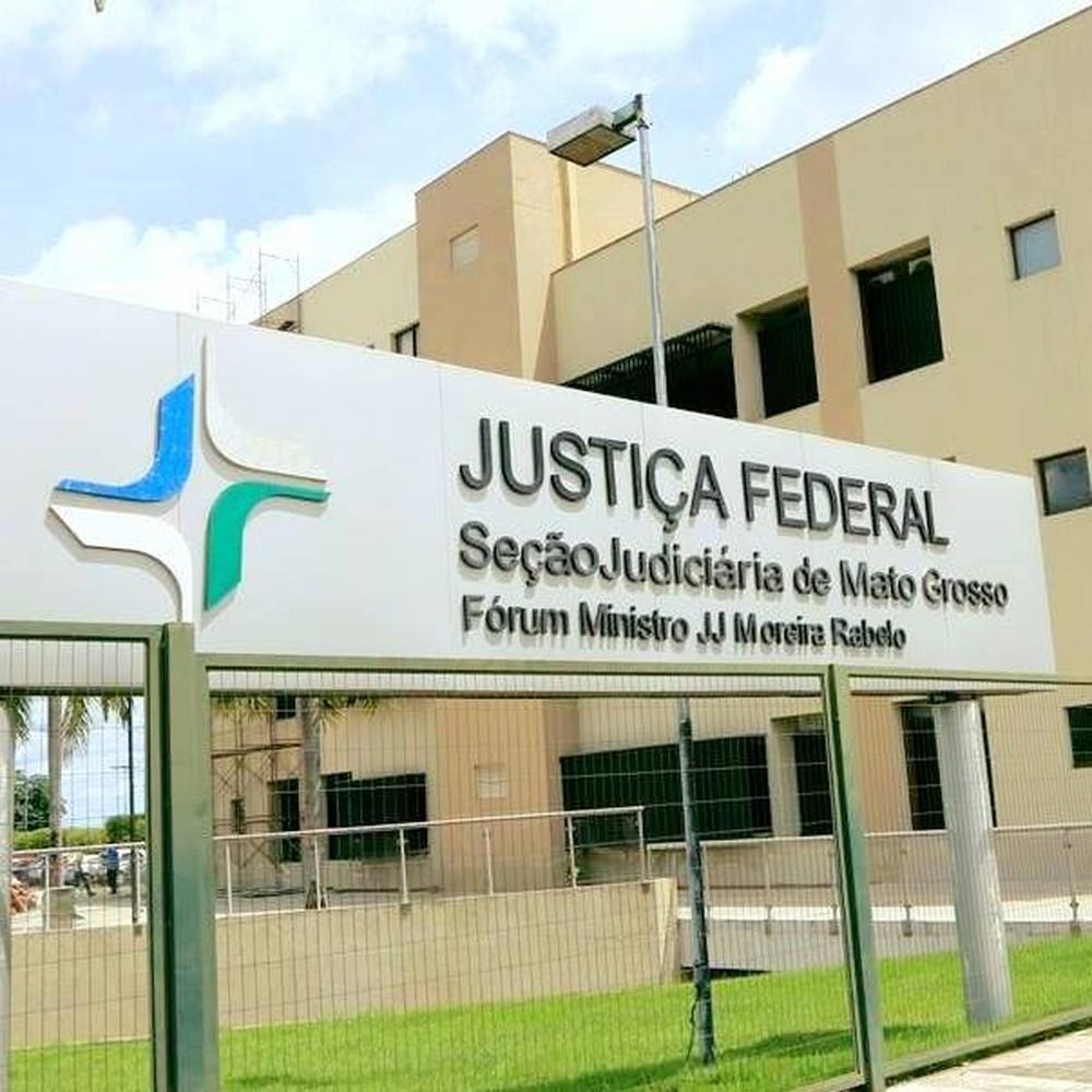 Sede da Justiça Federal em Mato Grosso — Foto: JF-MT