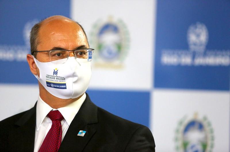 O ex-governador do Rio de Janeiro Wilson Witzel - Philippe Lima/Gov. Estado do Rio de Janeiro