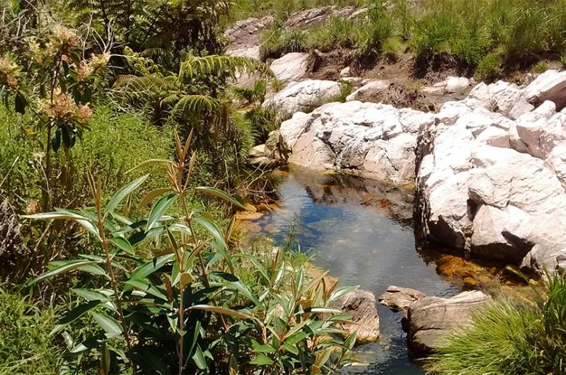Nascente do rio São Francisco no Parque Nacional da Serra da Canastra, em São Roque de Minas - Divulgação/Wikipédia