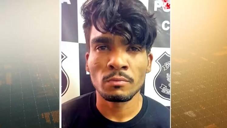O serial killer Lázaro Barbosa é apontado como autor de uma chacina - (Foto: Reprodução/ Record TV)