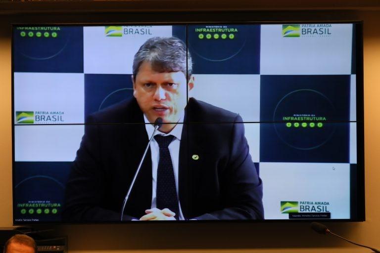 Tarcísio Gomes de Freitas: concessões permitem que o governo priorize outras áreas - (Foto: Cleia Viana/Câmara dos Deputados)