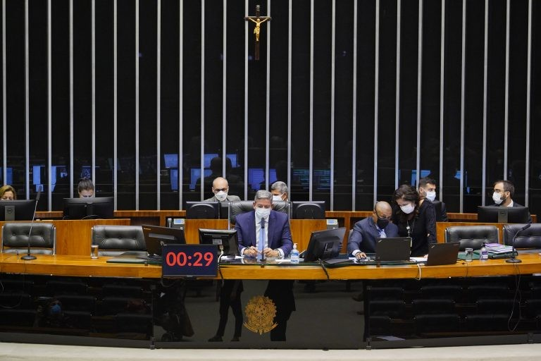 Sessão Deliberativa desta terça-feira (22) - (Foto: Pablo Valadares/Câmara dos Deputados)
