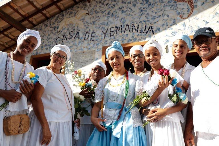 Constituição Federal garante liberdade culto - (Foto: Tatiana Azeviche/Governo da Bahia)