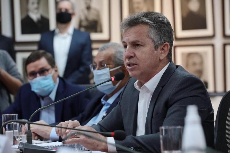 Governador Mauro Mendes anuncia edital de chamamento público para construção de ferrovia estadual em Mato Grosso - Foto por: Mayke Toscano/Secom-MT