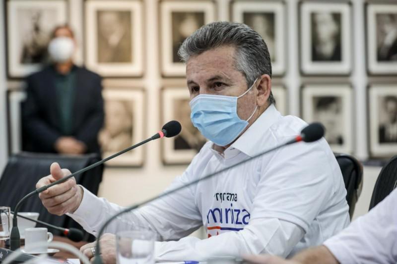 O governador Mauro Mendes - Foto por: Tchélo Figueiredo - SECOM/MT