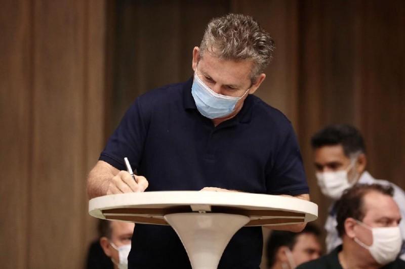 Governador Mauro Mendes assina convênio para reforma e ampliação do hospital municipal de Barra do Garças - Foto por: Mayke Toscano