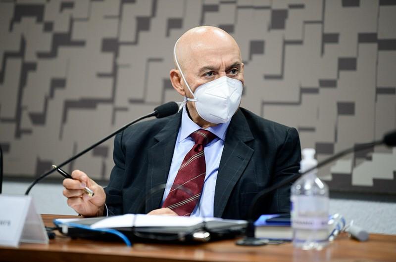 Presidente da comissão temporária, Confúcio faz balanço positivo dos trabalhos - Pedro França/Agência Senado
