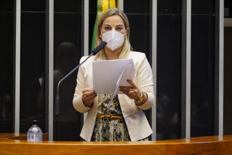 Katia Sastre: agressor de mulher militar deve ser julgado por juiz independente e imparcial - (Foto: Pablo Valadares/Câmara dos Deputados)