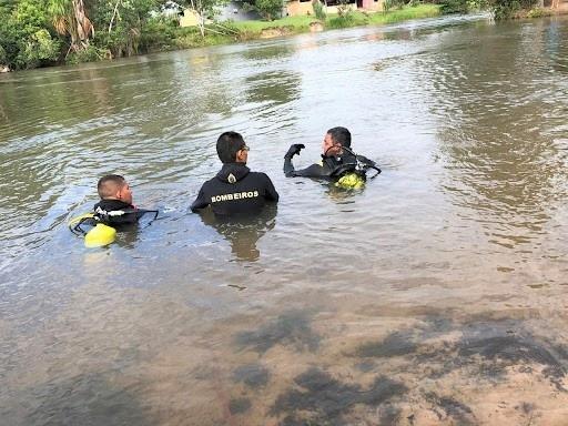 Populares localizam no Rio Verde, corpo de jovem atingido por tiros em Lucas do Rio Verde