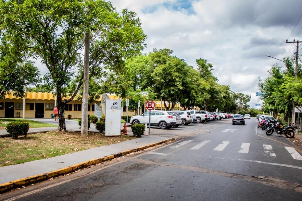 Sede do Detran-MT em Cuiabá - Foto por: Secom-MT