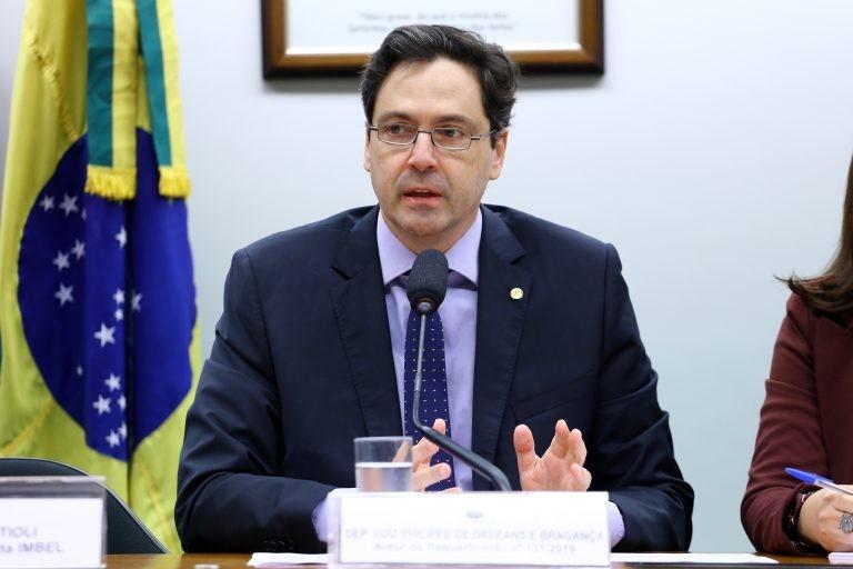 Deputado Luiz Philippe apresentou parecer favorável - (Foto: Vinicius Loures/Câmara dos Deputados)