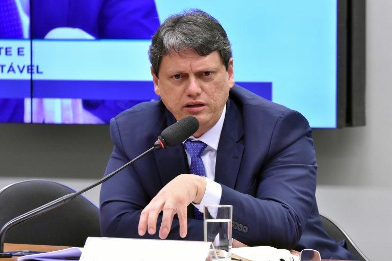 Ministro Tarcísio Gomes de Freitas - (Foto: Reila Maria/Câmara dos Deputados)