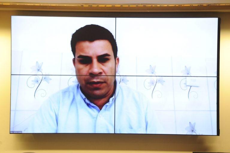 Carlos Veras é autor do requerimento para realização da audiência - (Foto: Gustavo Sales/Câmara dos Deputados)