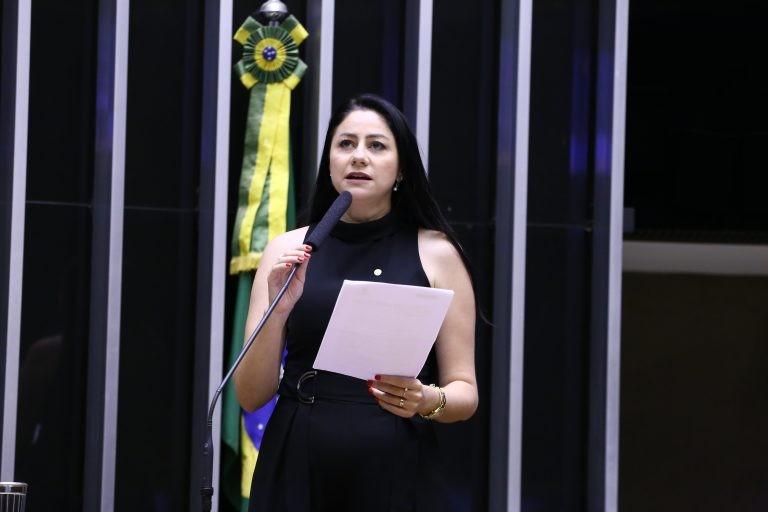 Liziene Bayer acredita que proposta contribuirá pra reduzir desemprego entre os jovens - (Foto: Najara Araujo/Câmara dos Deputados)