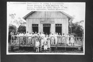 O Leprosário Souza Araujo, o mais modesto do País, fundado em 1930 - (Foto: Fundação Oswaldo Cruz. Casa de Oswaldo Cruz)