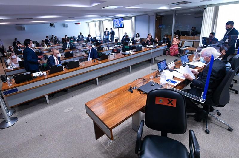 Projeto foi aprovado em reunião da Comissão de Assuntos Econômicos nesta terça - Edilson Rodrigues/Agência Senado