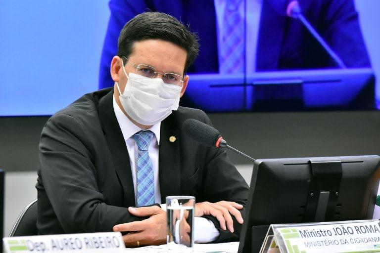 O Ministro da Cidadania, João Roma - (Foto: Reila Maria/Câmara dos Deputados)