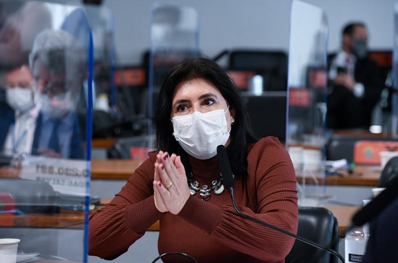 A relatora da PEC é a senadora Simone Tebet (MDB-MS) - Roque de Sá/Agência Senado