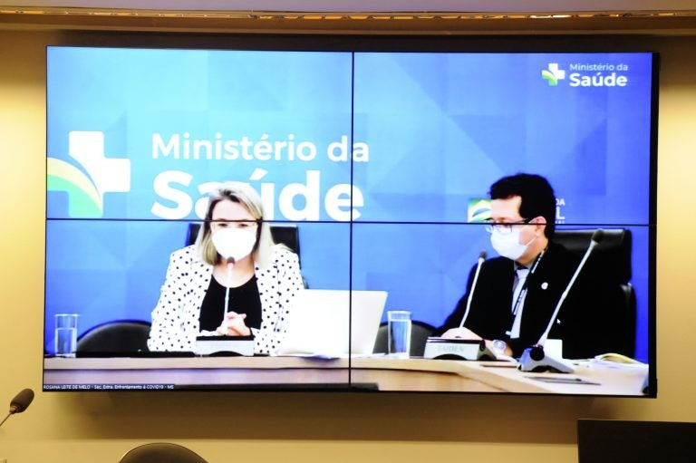 Rosana de Melo constatou queda no número de mortos diante do avanço da vacinação - (Foto: Gustavo Sales/Câmara dos Deputados)