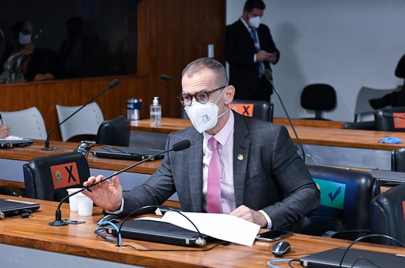 O relator, senador Fabiano Contarato (Rede-ES), aprovou o pedido e propôs um cronograma para a investigação - Roque de Sá/Agência Senado
