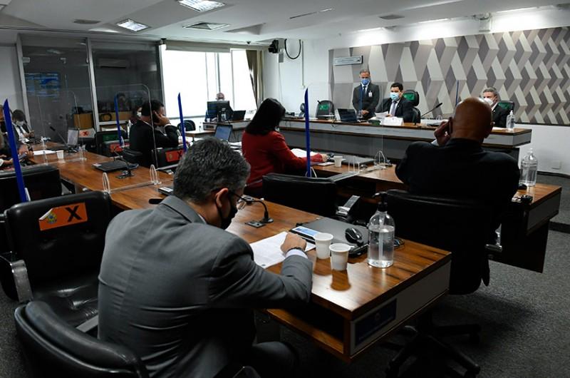 Nome de André Mendonça, indicado ao STF, aguarda deliberação da CCJ; Alessandro Vieira (Cidadania-SE) voltou a pedir ao presidente da comissão, Davi Alcolumbre (DEM-AP), a realização da sabatina - Roque de Sá/Agência Senado