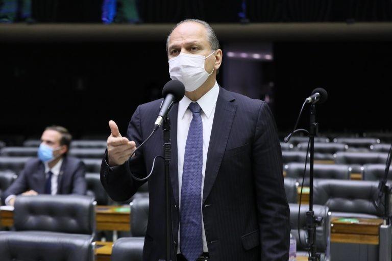 Para Barros, o projeto dá segurança jurídica ao FNDE - (Foto: Michel Jesus/Câmara dos Deputados)