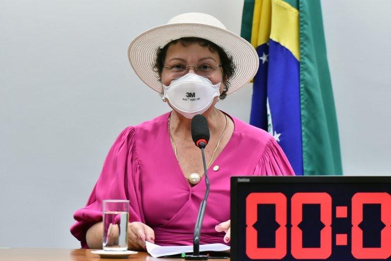 Tereza Nelma espera contribuir com a discussão da Política Nacional de Cuidados - (Foto: Reila Maria/Câmara dos Deputados)