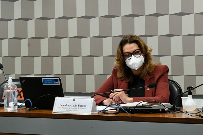 O projeto recebeu parecer favorável da relatora, senadora Leila Barros (Cidadania-DF) - Roque de Sá/Agência Senado