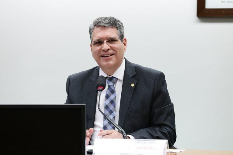 Francisco Jr., autor do requerimento - (Foto: Najara Araujo/Câmara dos Deputados)
