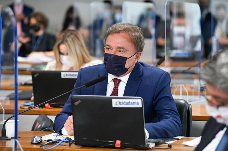 O debate foi solicitado por Alvaro Dias; ele alerta para o risco, indicado por entidades da sociedade civil, de que as mudanças propostas resultem em mais impunidade e corrupção - Roque de Sá/Agência Senado