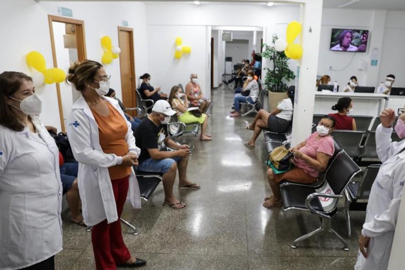 Em dois dias, a unidade hospitalar realizará 55 procedimentos cirúrgicos - Foto por: Tchélo Figueiredo   Secom-MT