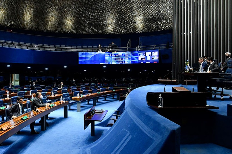 Vários vetos foram mantidos pelo Congresso Nacional, em sessões separadas, da Câmara e do Senado - Waldemir Barreto/Agência Senado