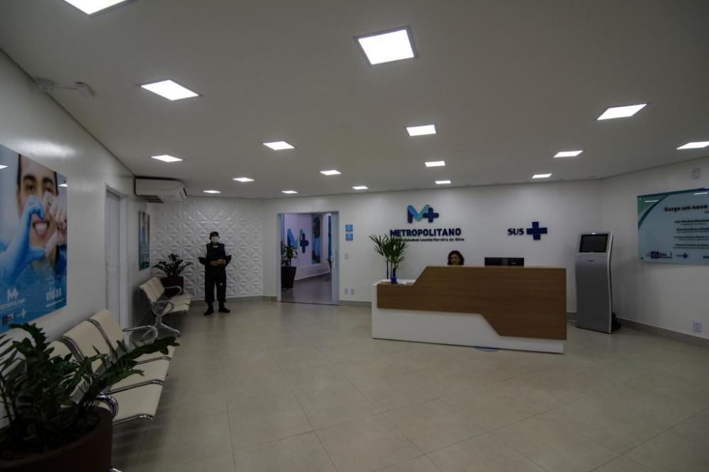Hospital Metropolitano atuará como unidade de referência para o tratamento de pacientes diagnosticados com a Covid-19. - Foto por: Maros Vergueiro/Secom-MT