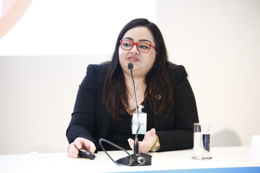 Auditora Almerinda Alves de Oliveira, atual secretária-adjunta de Corregedoria Geral da CGE-MT - Foto por: TCU
