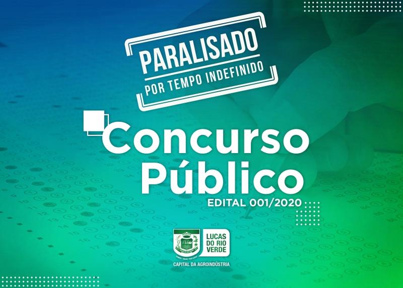 Prefeitura de Lucas do Rio Verde suspende temporariamente trâmites do concurso público
