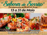 Confira os estabelecimentos e pratos que fazem parte do 1º Festival Gastronômico e Delivery Sabores de Sorriso
