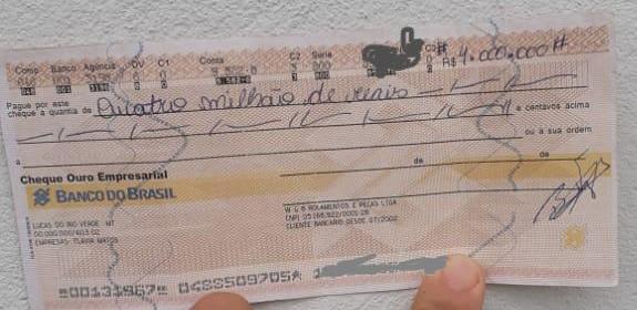 Polícia Civil prende suspeito de usar cheque furtado para extorquir vítima em Sorriso