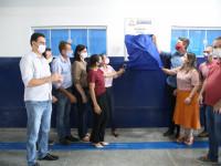 Revitalização da ala infantil da Escola Ivete é oficialmente inaugurada