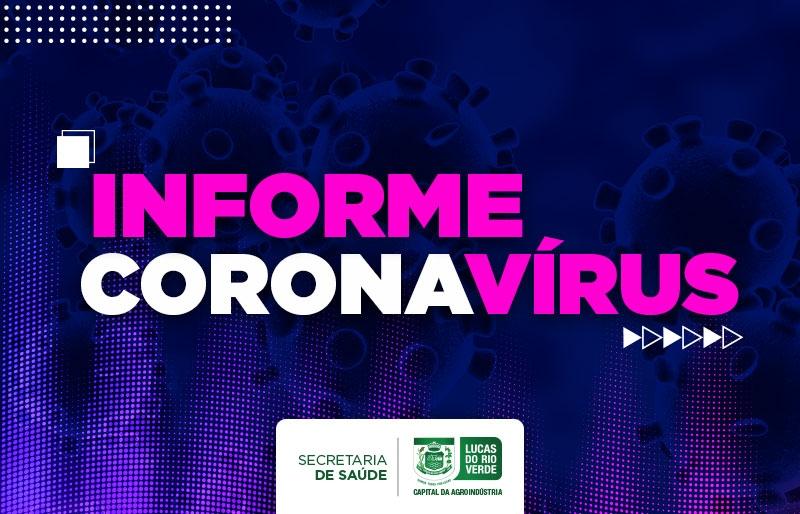 Informe 006 da Secretaria Municipal de Saúde sobre Coronavírus
