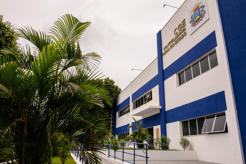 Fachada da CGE, no Centro Político Administrativo, em Cuiabá - Foto por: Mayke Toscano - Secom/MT