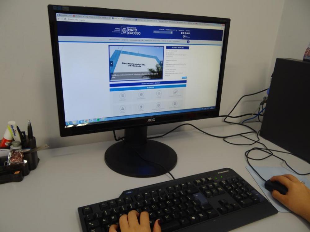 O DTe funciona como uma caixa postal eletrônica e visa facilitar o dia a dia do contribuinte - Foto por: Assessoria/Sefaz-MT