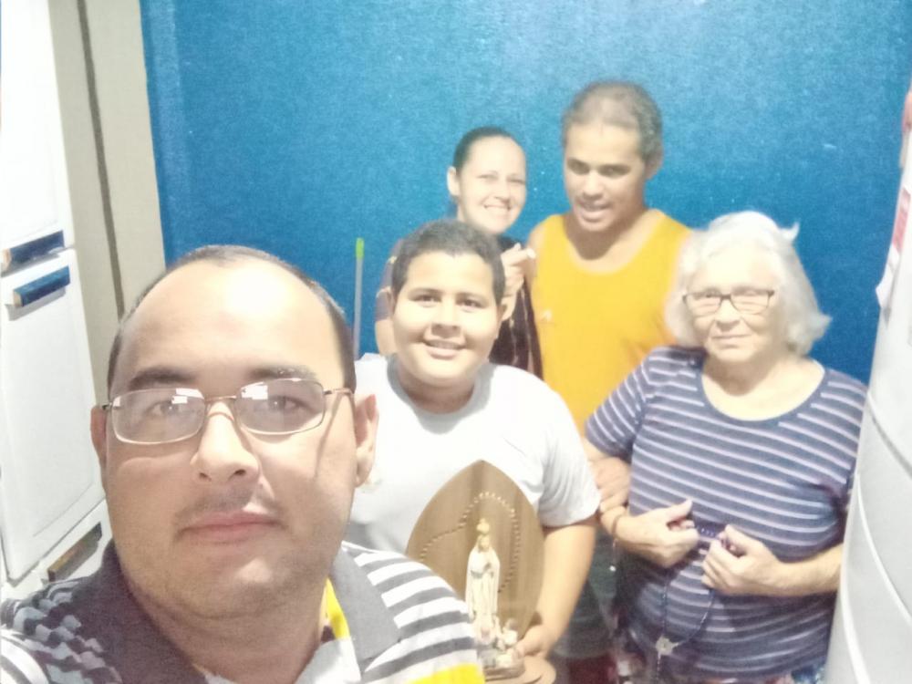 Idosa de 74 anos e família vencem a batalha contra o coronavírus em Lucas do Rio Verde