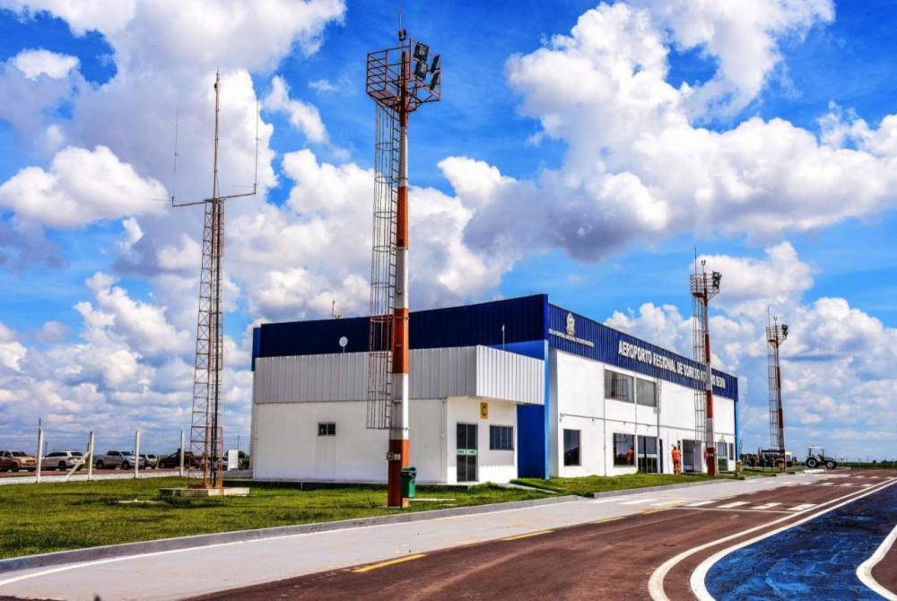 Publicado o processo de licitação para recuperação da pista do Aeroporto Regional de Sorriso