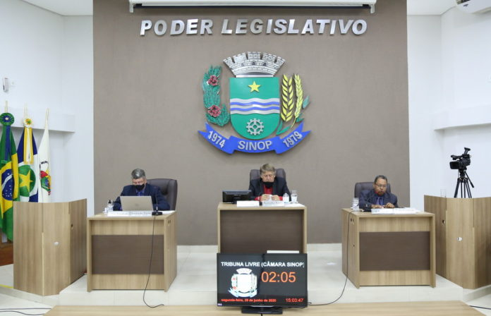 Câmara de Sinop devolve R$ 600 mil para Prefeitura comprar 7 kil kits Covid-19