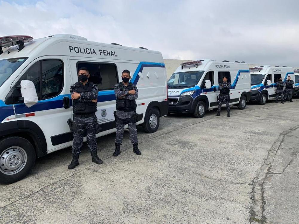 Departamento Penitenciário Nacional doa à Sesp viaturas para transporte de presos