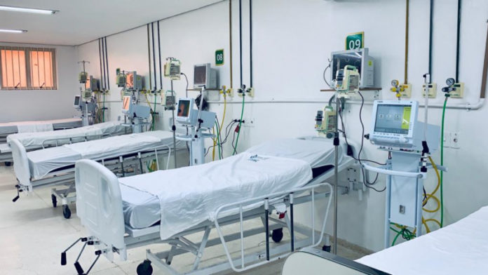 Hospital de Referência ganha mais 20 UTIs para pacientes com Covid-19 e Cuiabá chega a 115 leitos exclusivos