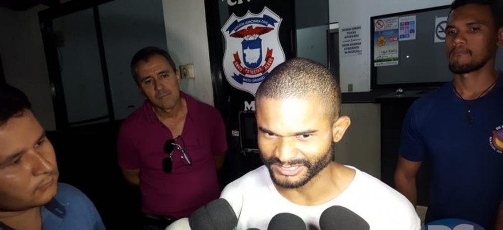 Lumar Costa da Silva, de 28 anos, confessou o crime à Polícia Civil — Foto: Portal Sorriso