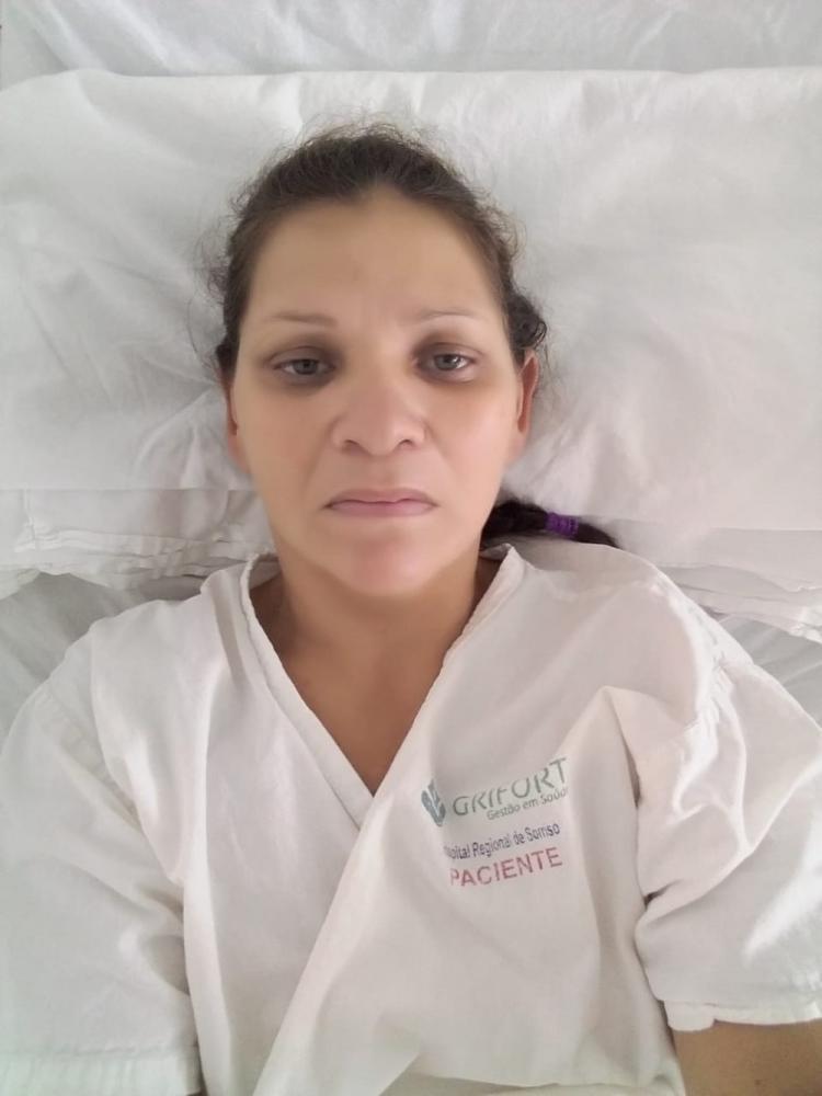 Sirlei Brito, de 41 anos, espera por cirurgia cardíaca já determinada pela Justiça com urgência em Sorriso — Foto: Arquivo pessoal
